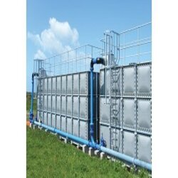 GRP And Steel Sectional Water Storage Tanks